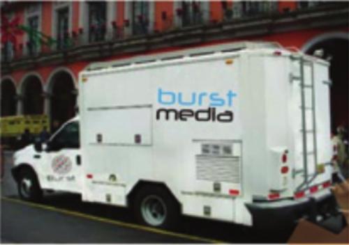 Unidad Movil Burst Media